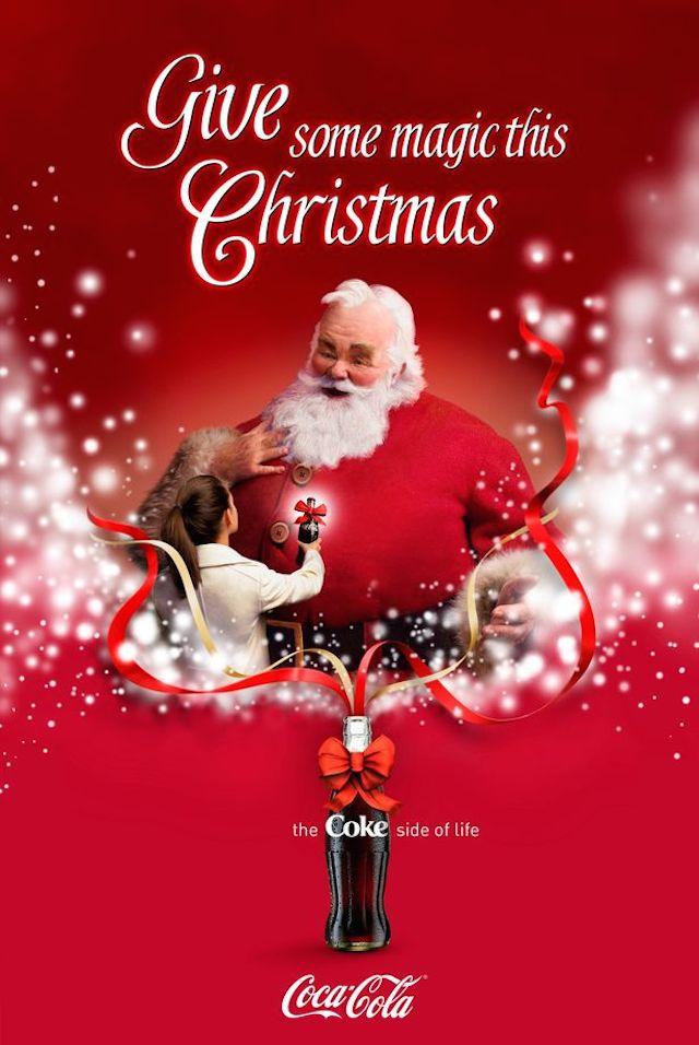 Coca Cola Babbo Natale.Coca Cola Fara Emozionare I Vostri Bambini Il Mio E Rimasto Senza Parole